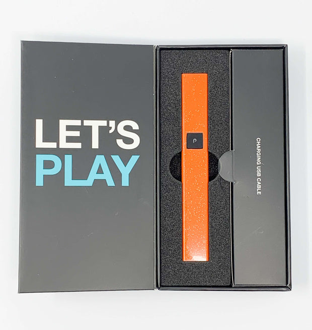 PlugPlay Orange Glitter Battery Starter Kit