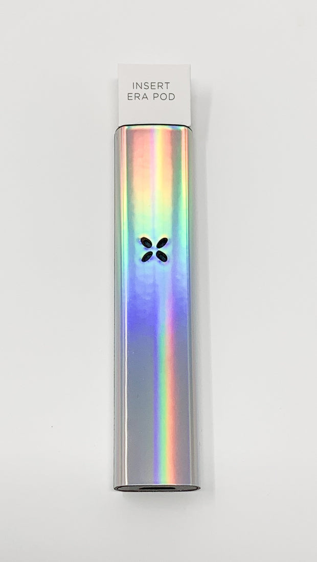 Pax Era Battery Silver Galaxy Rainbow Holographic Vape Pen