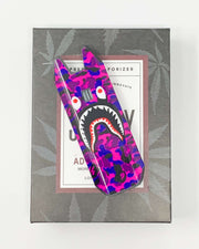 Biiig Stiiizy Bape Frown Face Purple Camo Vape Pen Starter Kit