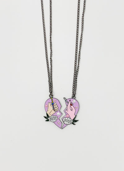 Swarovski Crystal Best Buds Necklace