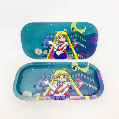 Sailor Moon Magnetic Rolling Tray with Lid