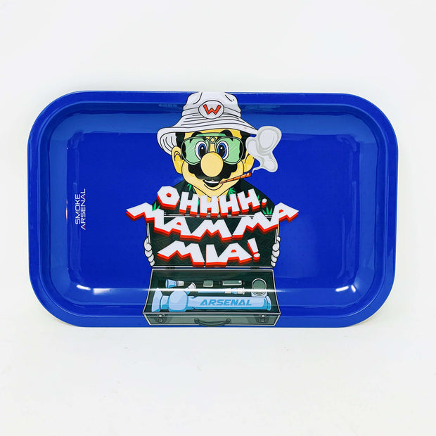 Fear and Loathing Wario Rolling Tray