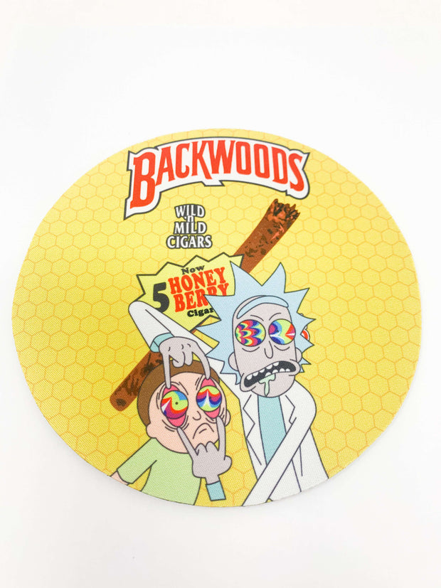 Backwoods Honey Rick and Morty Dab Mat