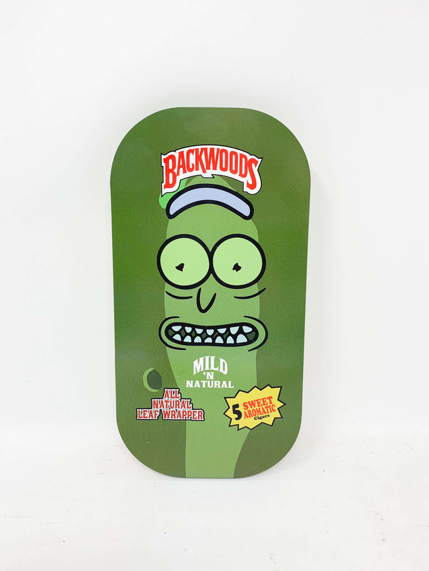 Green Backwoods Pickle Rick Rolling Tray