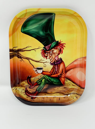Mad Hatter Wonderland Rolling Tray