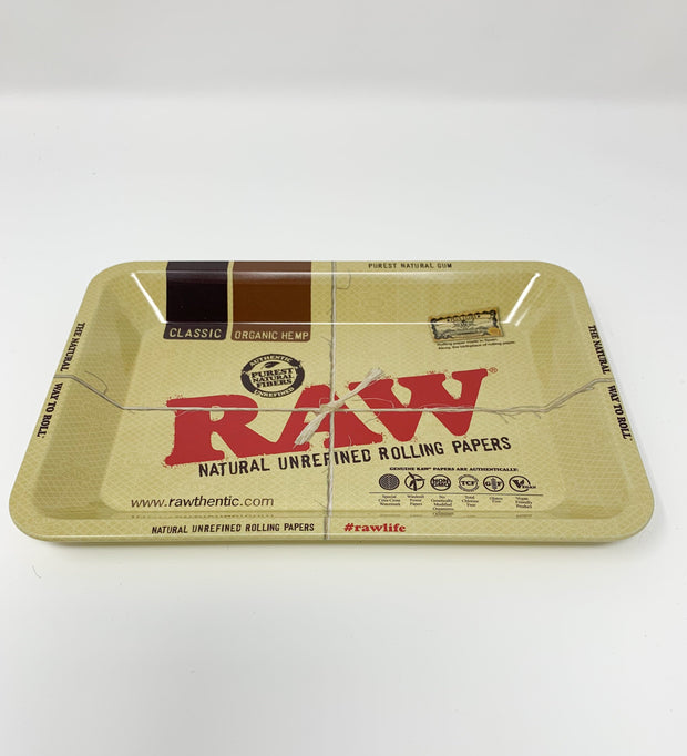 Raw Papers Rolling Tray
