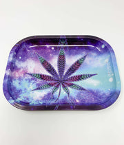 Galaxy Space Weed Leaf Rolling Tray