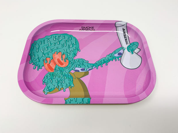 Pink Squidward Tentacles Rolling Tray
