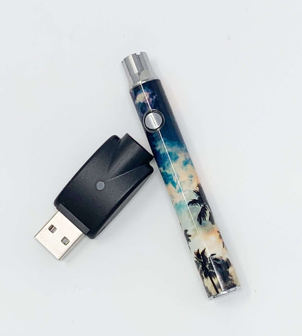510 Threaded Battery Palm Trees Sunset Vape Pen
