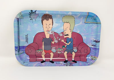 Beavis and Blunthead Rolling Tray