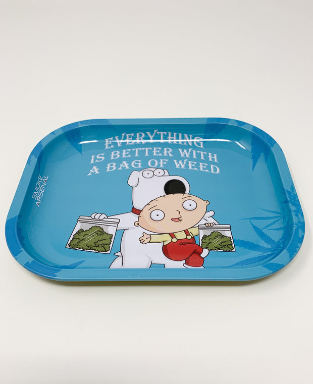 Brian and Stewie Rolling Tray