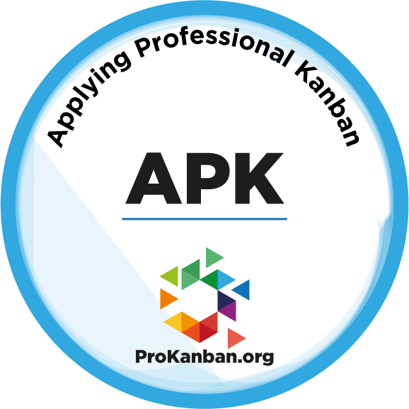 Applying Professional Kanban (APK) Course - July 12th and 13th