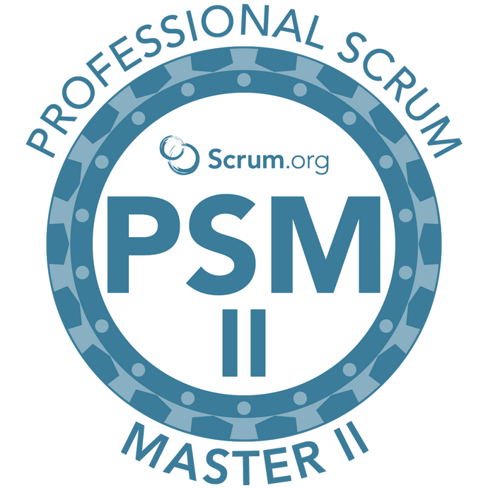 Professional Scrum Master II (PSM II) Course - April 26th and 27th