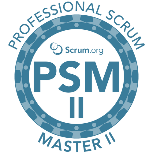 Professional Scrum Master II (PSM II) Course - August 19th and 20th | Madison, WI