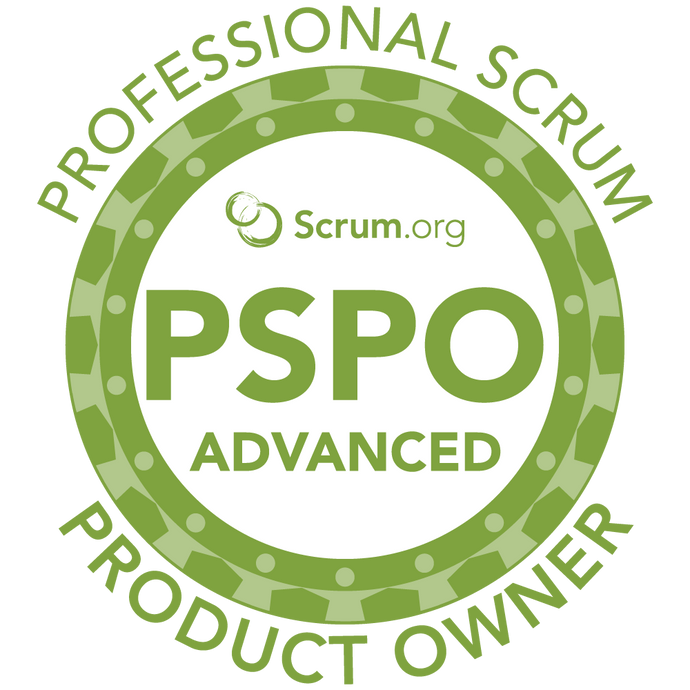 Professional Scrum Product Owner - Advanced (PSPO-A) Course - July 15th and 16th | Madison, WI