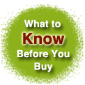 Know before you buy