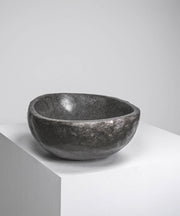 MOUNT IYA BASALT SINK WITH POLISHED EXTERIOR