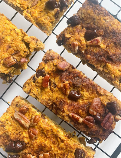 Pumpkin Breaky Bars