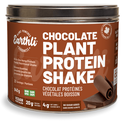 Chocolate Plant Protein Shake