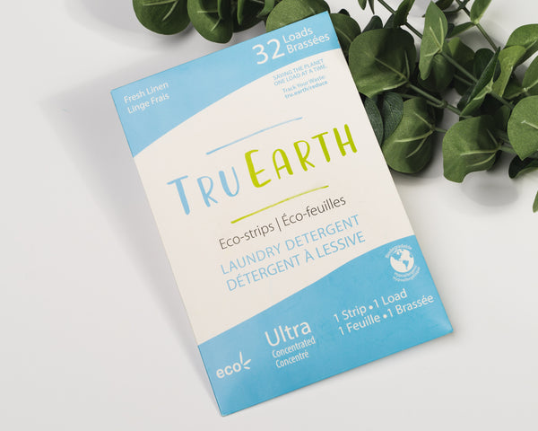 Tru Earth Eco-strips Laundry Detergent (Fragrance Free) - 32 Loads