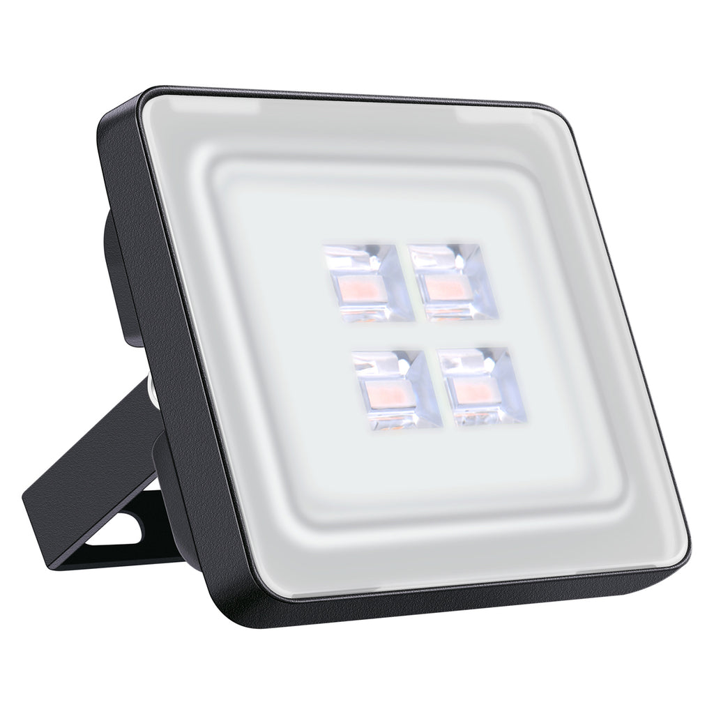 10W LED Flood Light, Warm White, 110V, D6 - viugreum