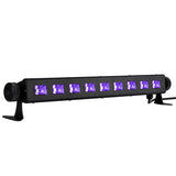 27W 9LED UV Bar Light- Metalic Black - viugreum