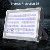 200W LED Flood Light, Warm White, 110V, D6 - viugreum