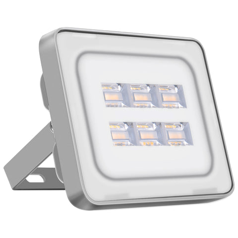 20W LED Flood Light, Daylight White, 110V, D6 - viugreum