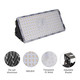 100W LED Flood Light, Warm White, 110V, D7 - viugreum