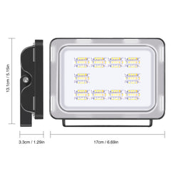 30W LED Flood Light, Warm White, 110V, D6 - viugreum