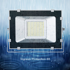 100W LED Outdoor Flood Lights, Daylight White - viugreum