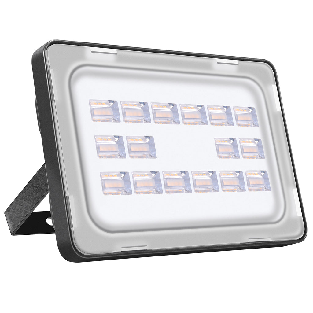 50W LED Flood Light, Warm White, 110V, D6 - viugreum