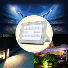 50W LED Flood Light, Daylight White, 110V, D6 - viugreum