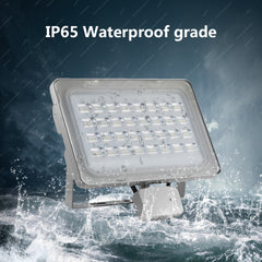 100W LED Flood Light, Daylight White, 110V, D6 - viugreum