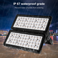 100W LED Flood Light, Warm White/Daylight White 110V, YK - viugreum