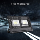Viugreum 100W LED Flood Light Outdoor, 8500lm Daylight White 6500K, 500W Halogen Bulb Equivalent, Waterproof IP66 Super Bright Outdoor Security Lights for Factory, Garage, Garden, Lawn and Yard - viugreum