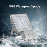 10W LED Motion Sensor Flood Light, Daylight White, 110V, D6 - viugreum