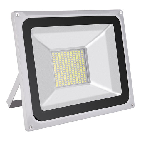 100W LED Flood Light, 220V 8000LM Daylight White(6000K) - viugreum