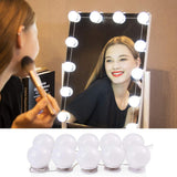 Hollywood Style Vanity Mirror Lights, 10 Dimmable Bulbs - viugreum
