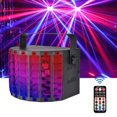 DJ Lights, 30W Multicolor LED Stage Lights with RGB Magic Effect, US plug - viugreum