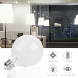 12W LED Globe Light Bulbs, Daylight White, E26(1 pack) - viugreum
