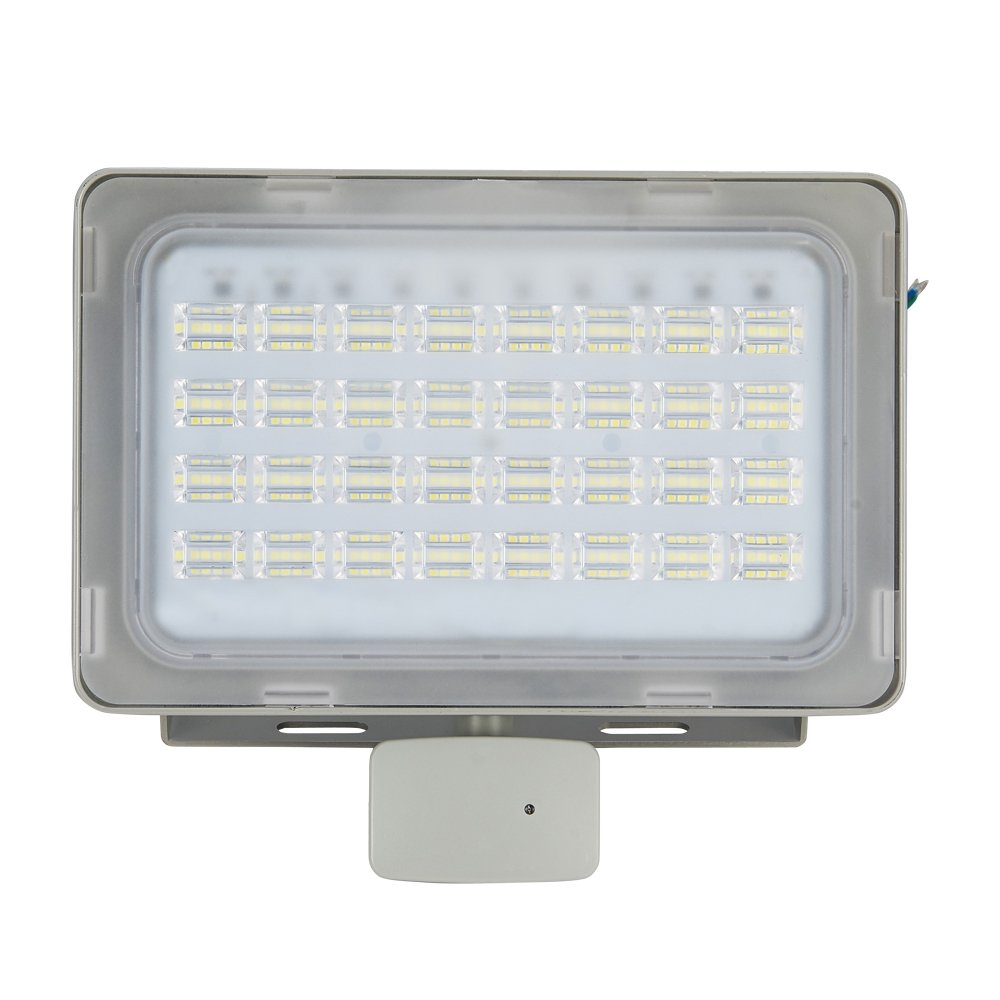 Viugreum 100W LED Flood Light Outdoor, Motion Sensor Security Light, Waterproof IP65, 6000LM, Cold White(6000-6500K), Super Bright PIR Security Lights, for Garden, Yard, Road, Square - viugreum