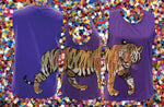 Wrap-Around Tiger Tank Purple
