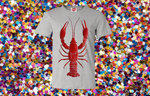 Mega Mudbug Heather Grey Tee
