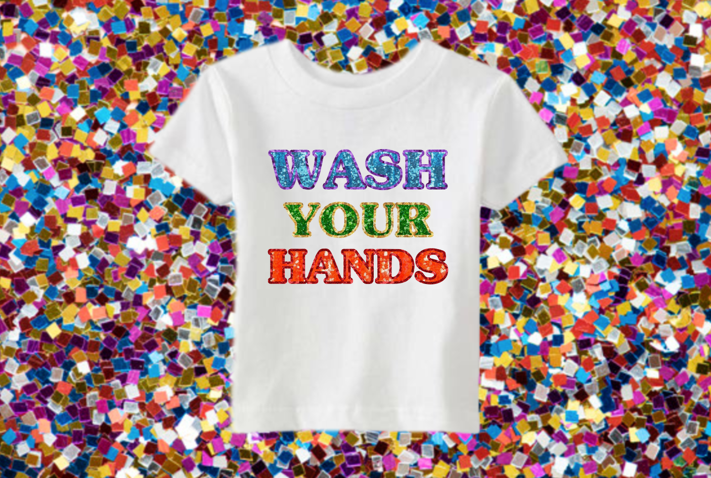 KIDS Wash Your Hands Tee