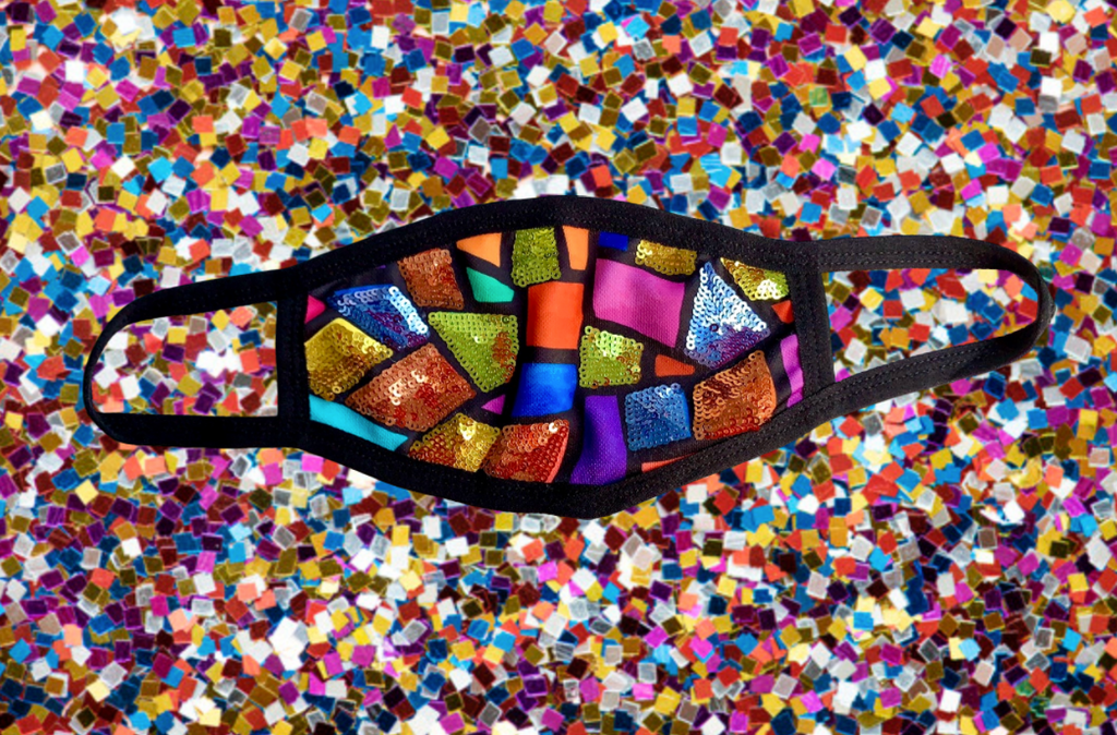 Sparkle Stained Glass Mask - Buy 1 and We donate 5!