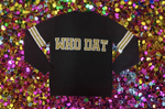 WHO DAT Black New Orleans Saints Jersey Sweater