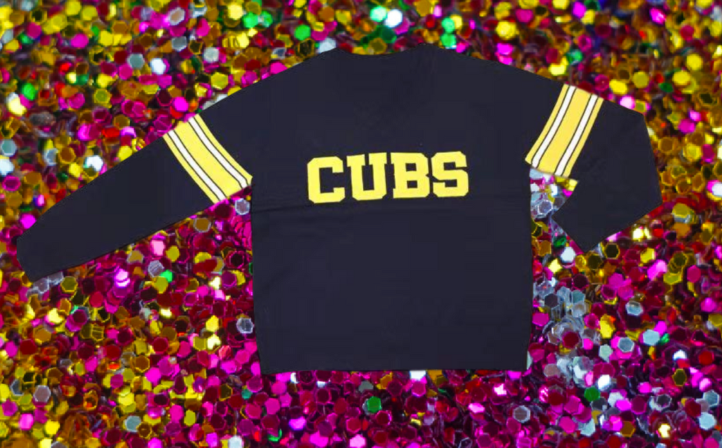 CUBS Black University Lab (U-High) Jersey Sweater