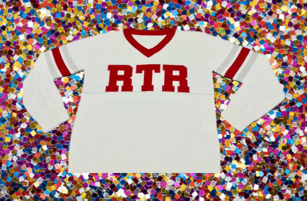 RTR (Roll Tide Roll) White BAMA (Alabama) Jersey Sweater