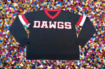 DAWGS Black Georgia Bulldogs Jersey Sweater